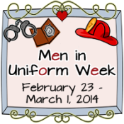 men in uniform week