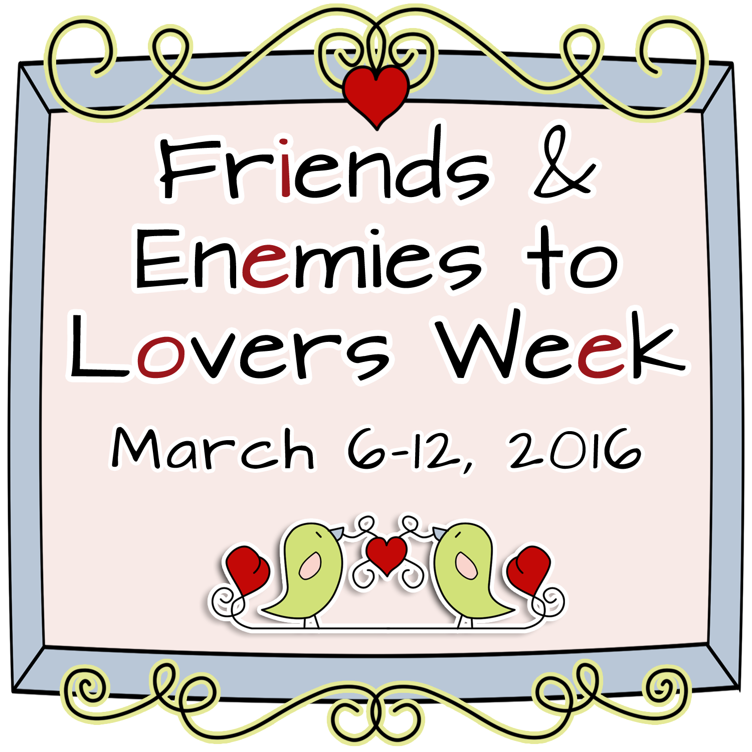 Friends & Enemies to Lovers Week Giveaway Preview!!