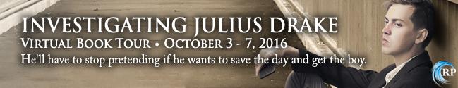 Investigating Julius Drake Tour Banner