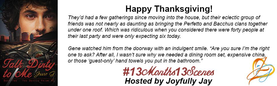 Happy Thanksgiving from Snake, Greg, & Jessie G