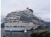 Cruise ship for Joe's Alaskan cruise