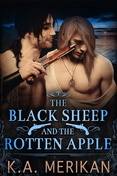 Guest Post and Giveaway: The Black Sheep and the Rotten Apple by K.A. Merikan