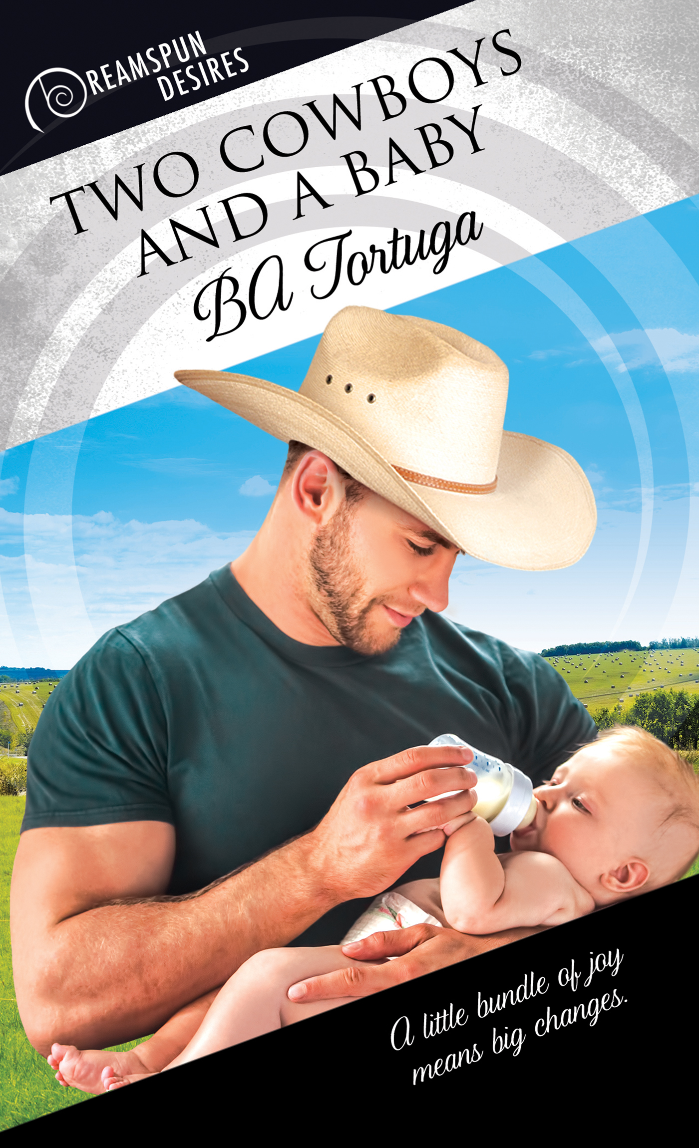 Guest Post and Giveaway: Two Cowboys and a Baby by B.A. Tortuga