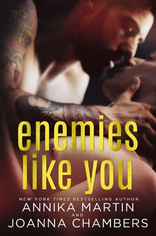 Interview: Enemies Like You by Annika Martin and Joanna Chambers