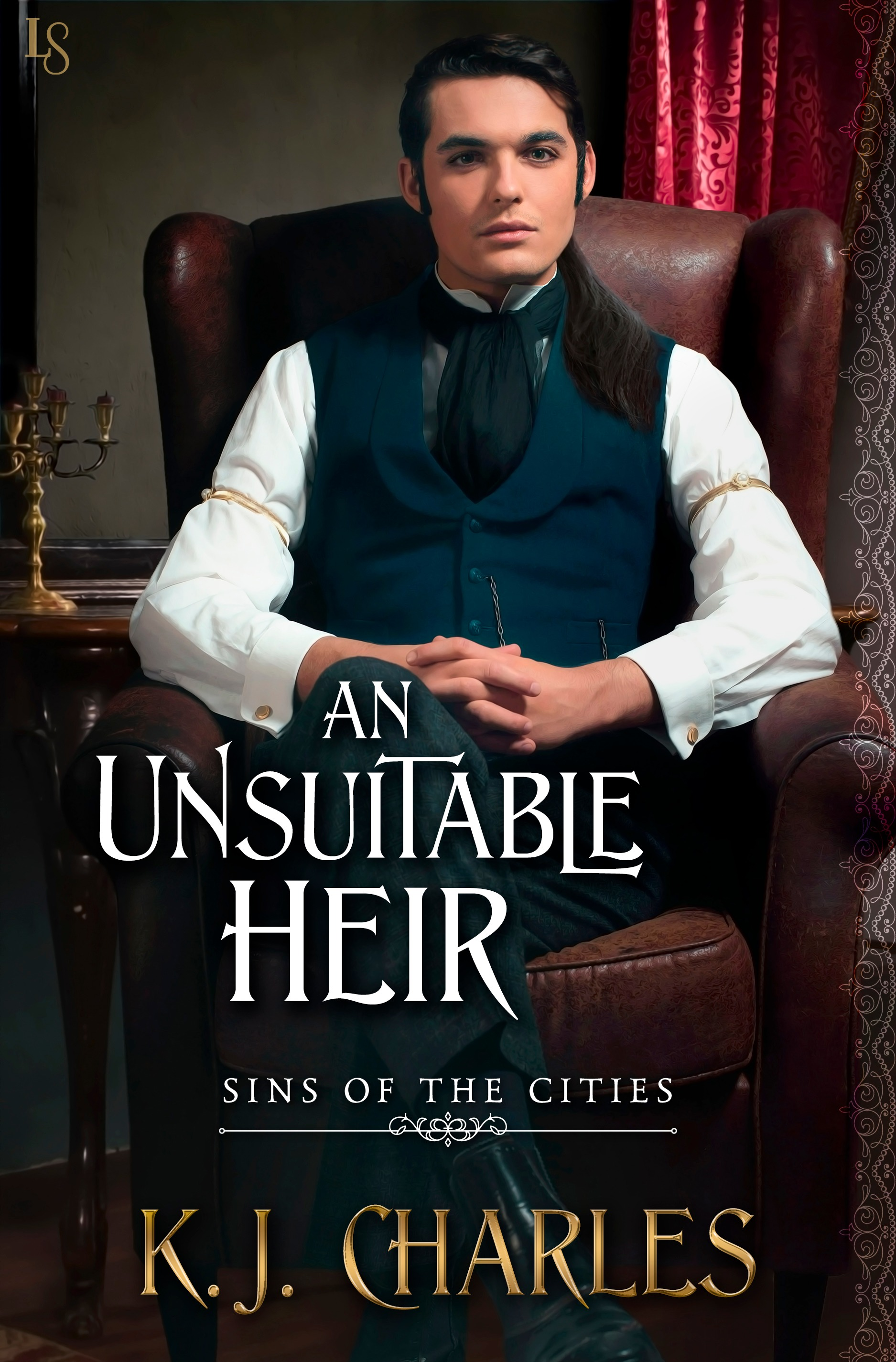 Excerpt and Giveaway: An Unsuitable Heir by KJ Charles