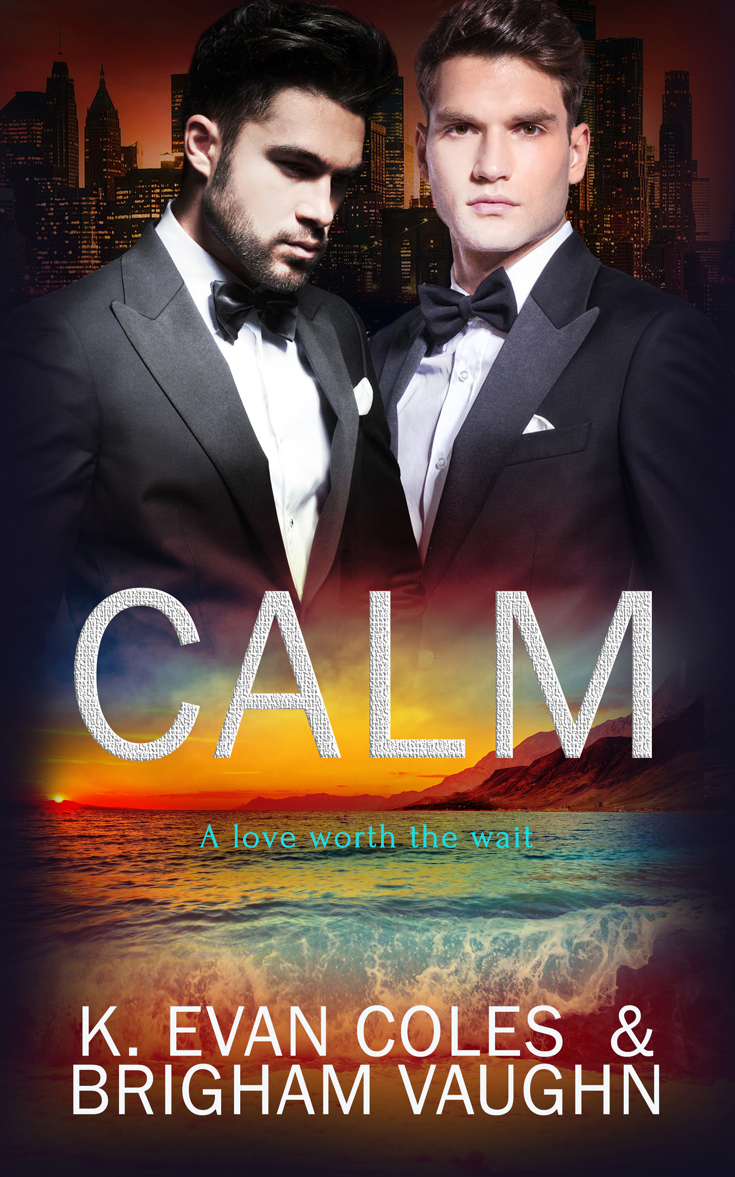 Guest Post and Giveaway: Calm  by K. Evan Coles & Brigham Vaughn