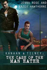 Review: The Case of the Man Eater by Jenna Rose and Katey Hawthorne