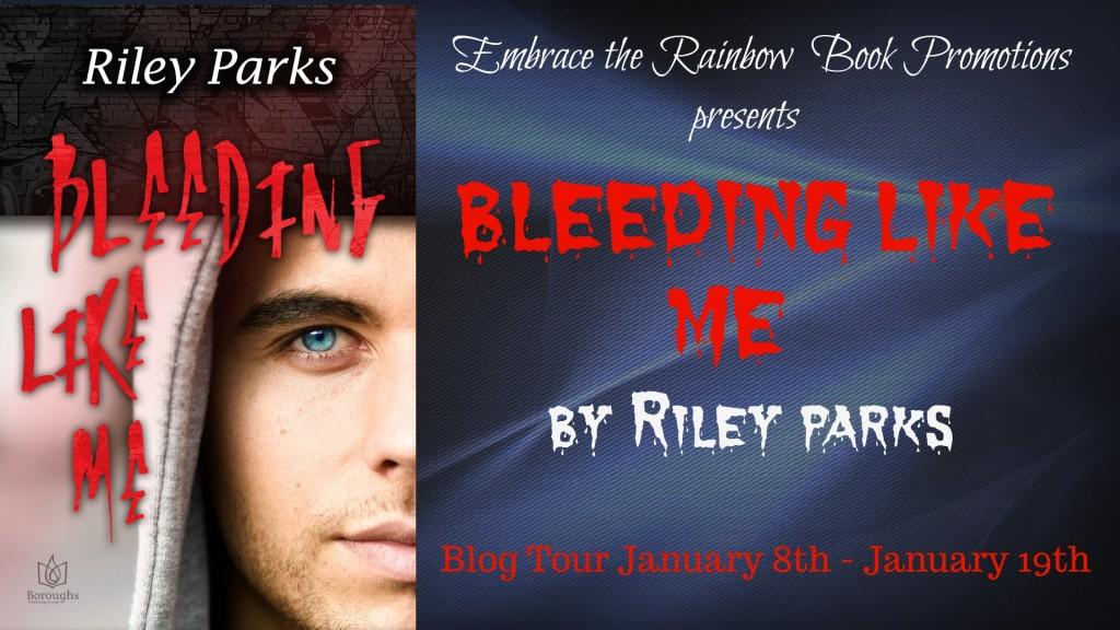 Bleeding Like Me blog tour banner