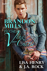 Review: Brandon Mills Versus the V-Card by Lisa Henry and J.A. Rock