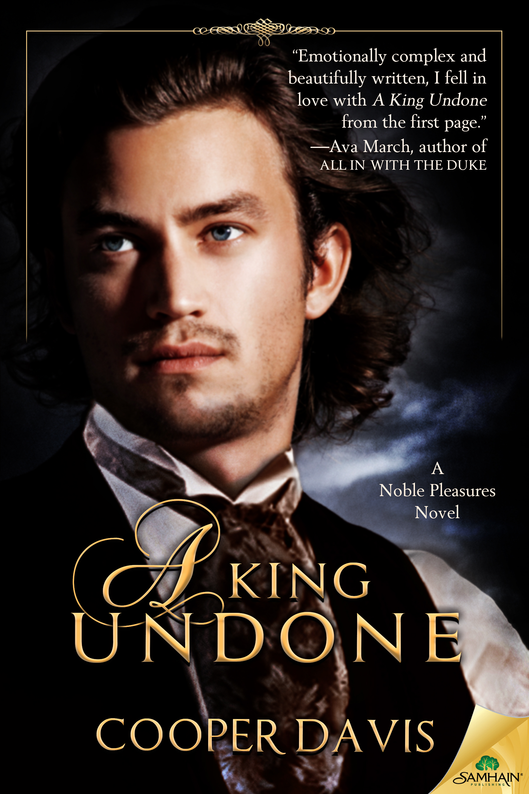 Guest Post and Giveaway: A King Undone by Cooper Davis