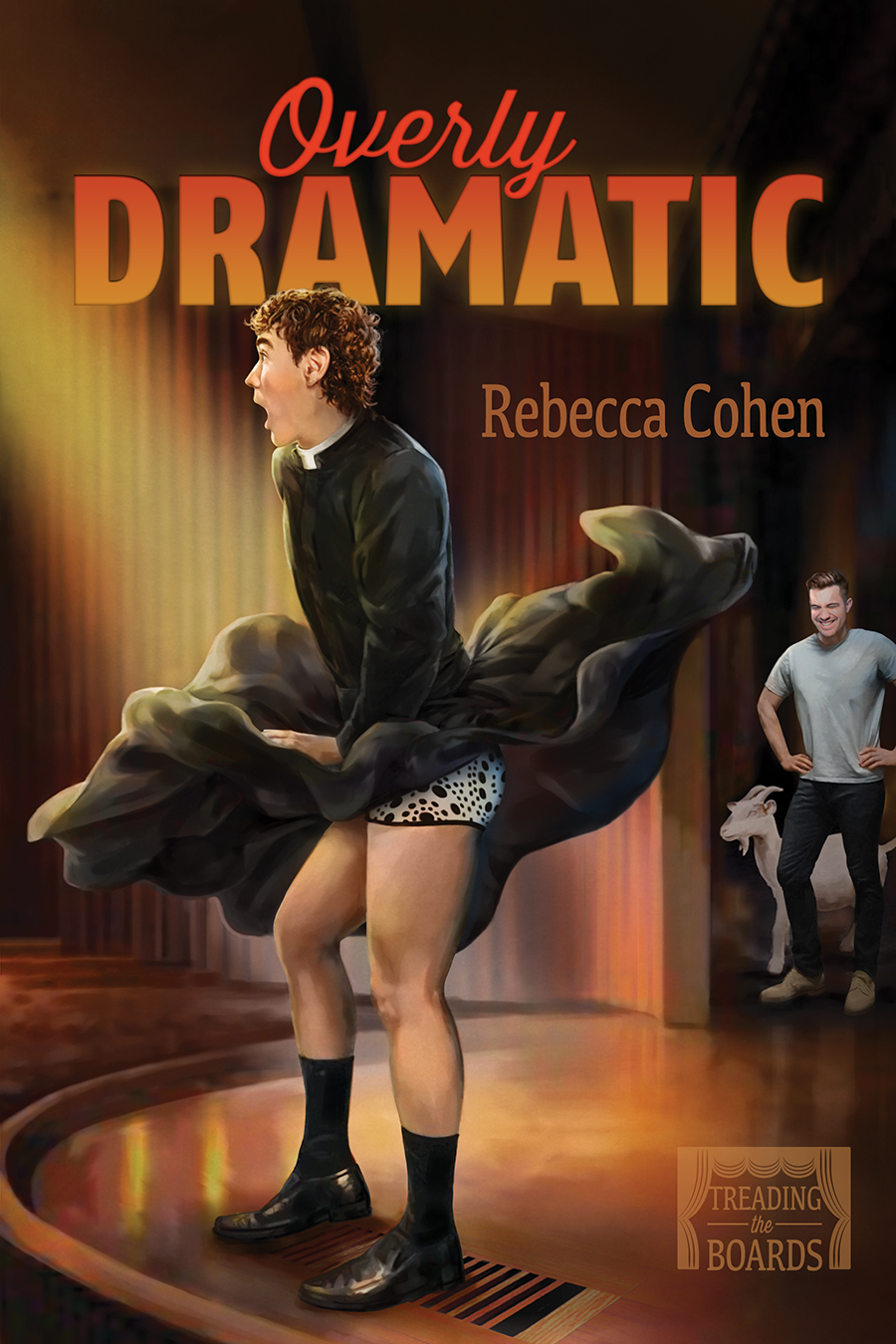Guest Post & Giveaway: Overly Dramatic by Rebecca Cohen