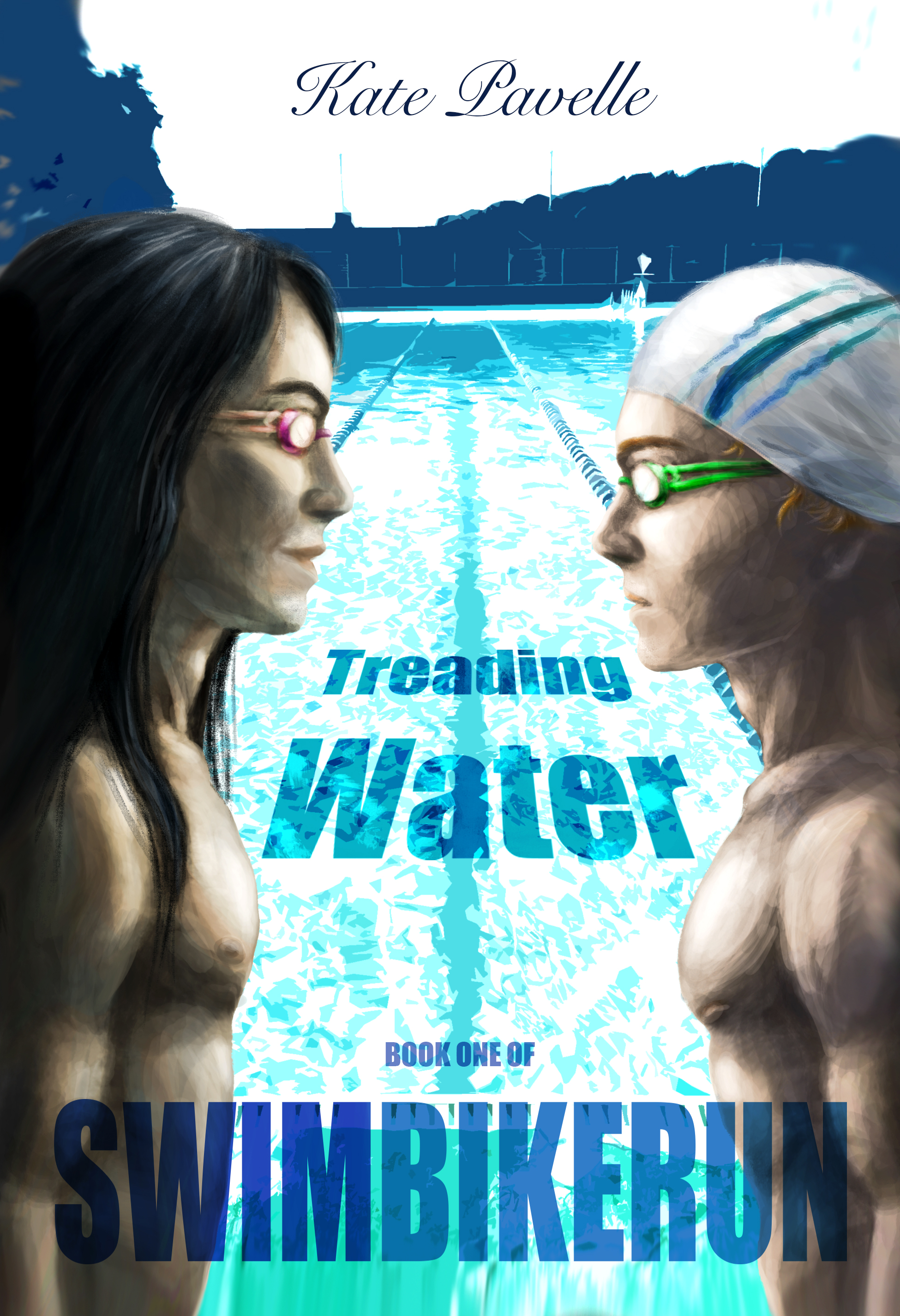 Guest Post and Giveaway: Treading Water by Kate Pavelle