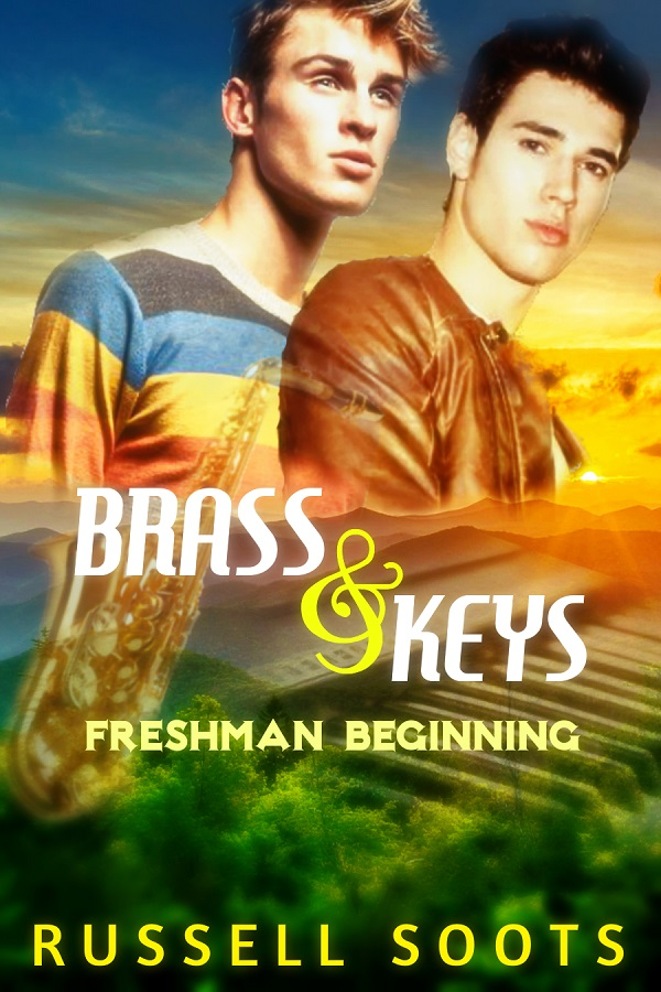 Cover Reveal: Brass & Keys by Russell Soots