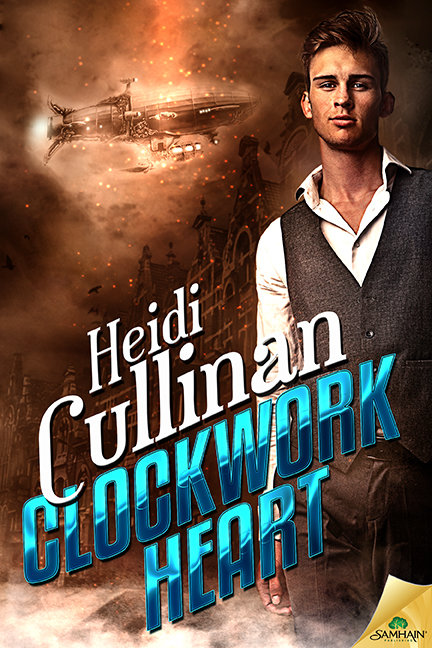 Guest Post and Giveaway: Clockwork Heart by Heidi Cullinan