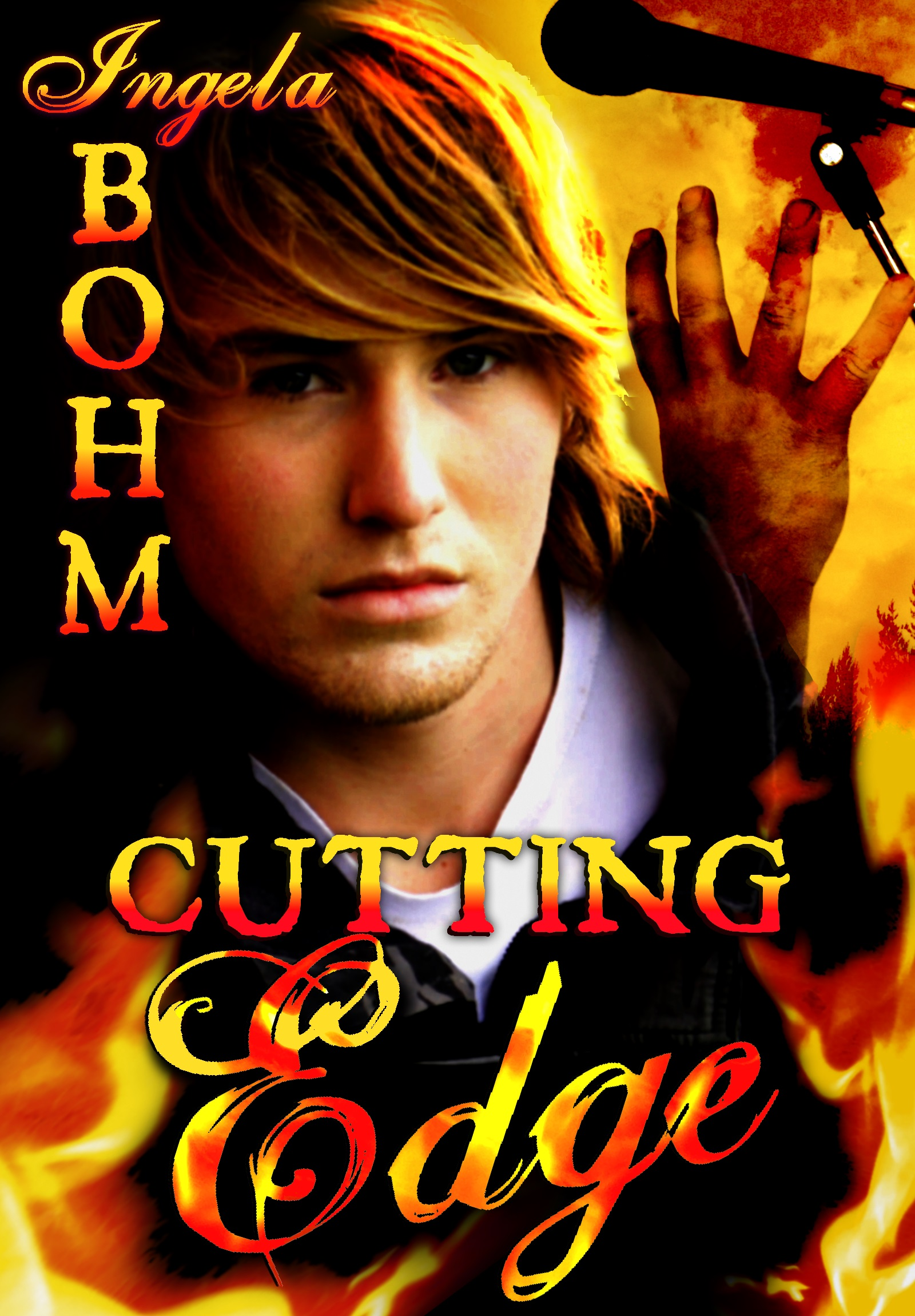 Guest Post and Giveaway: Cutting Edge by Ingela Bohm