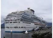 Cruise ship for Joe's Alaskan cruise