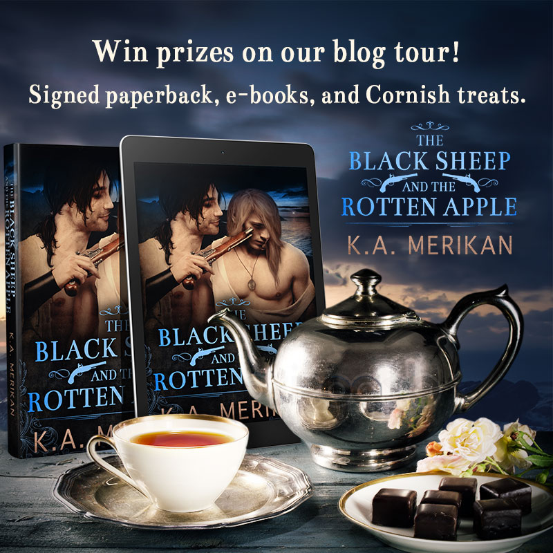 'The Black Sheep and the Rotten Apple' blog tour contest