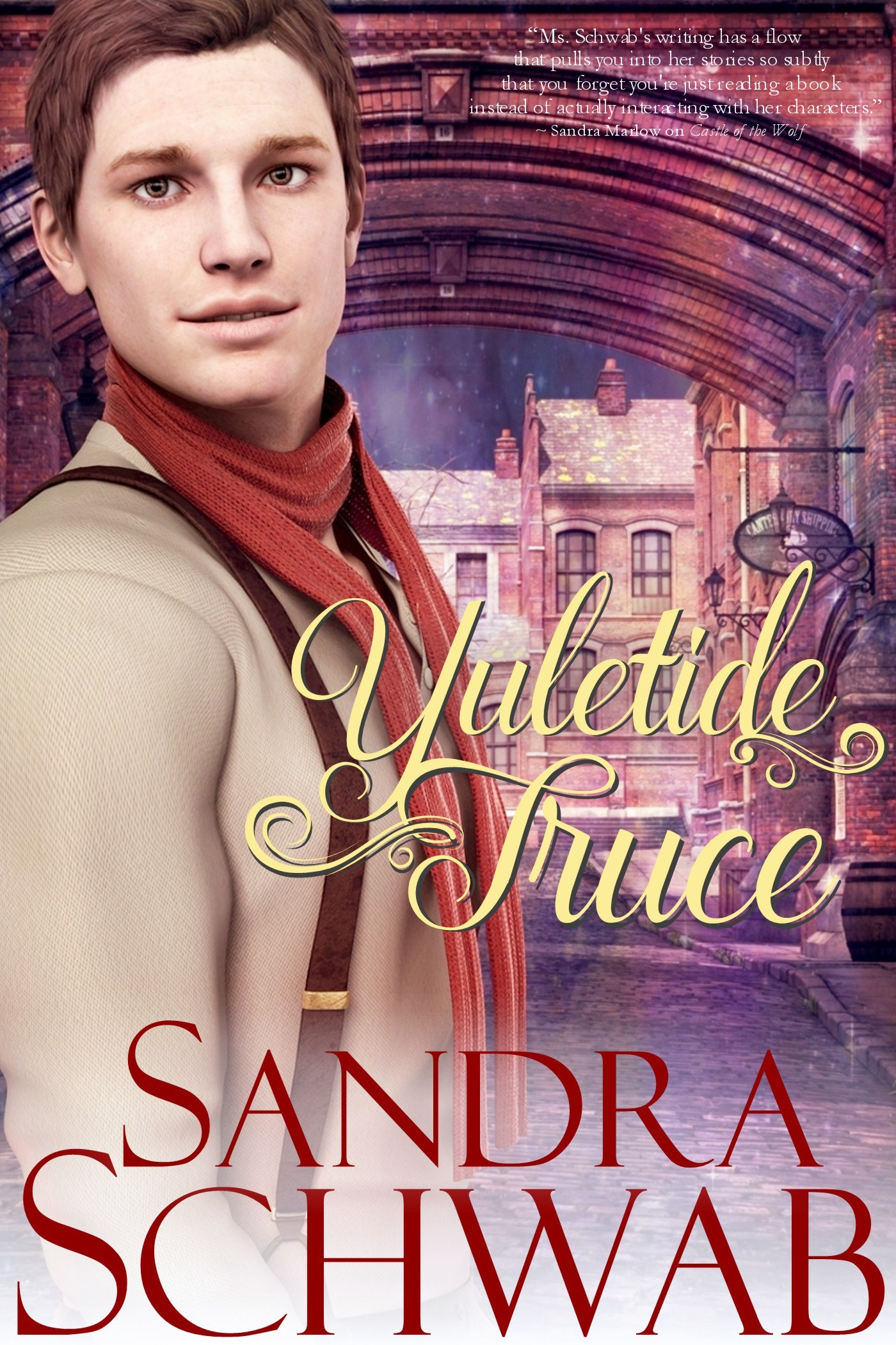 Guest Post and Giveaway: Yuletide Truce by Sandra Schwab