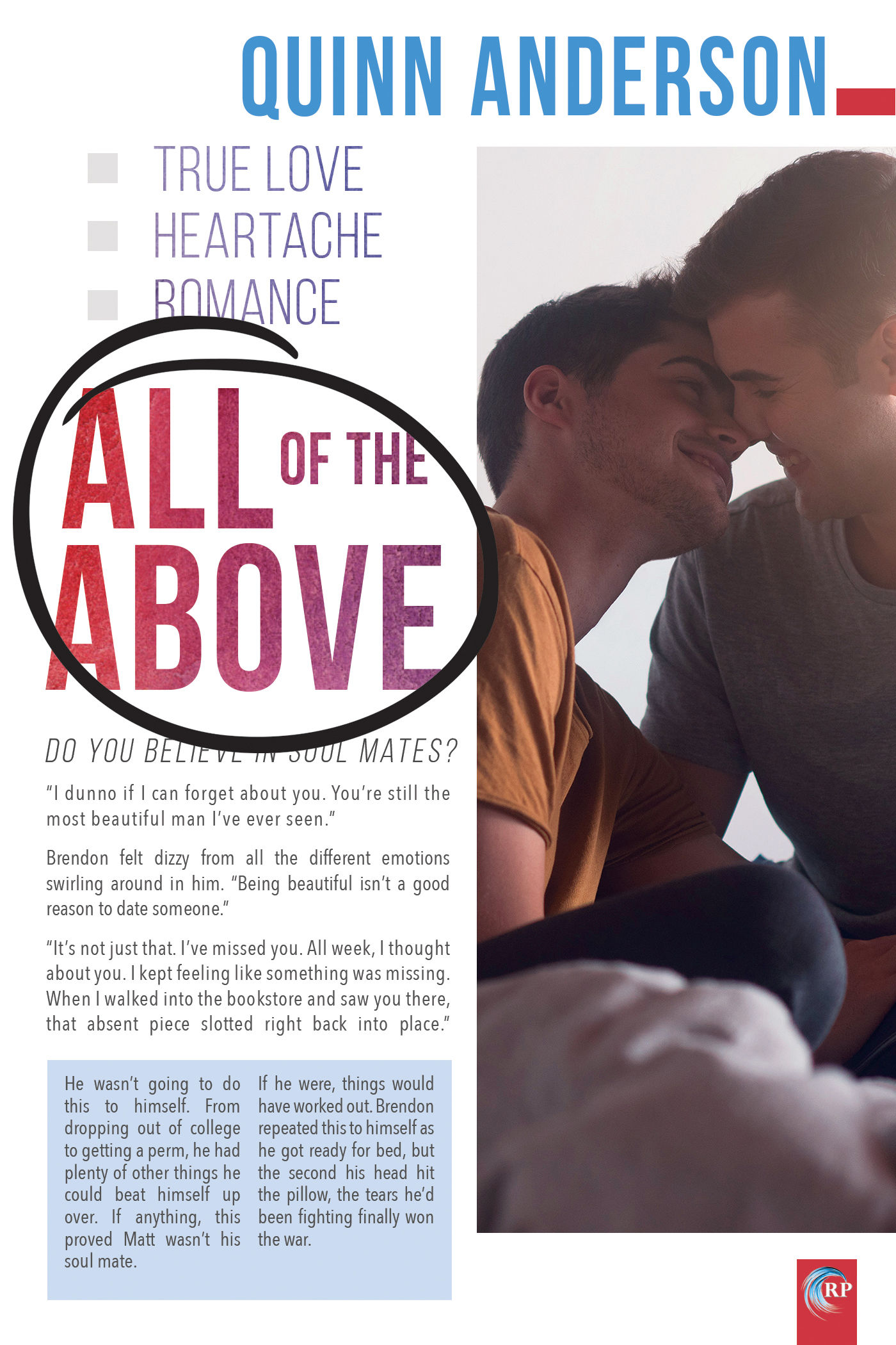 Review: All of the Above by Quinn Anderson
