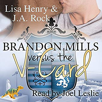 Audiobook Review: Brandon Mills Versus the V-Card by Lisa Henry and J.A. Rock