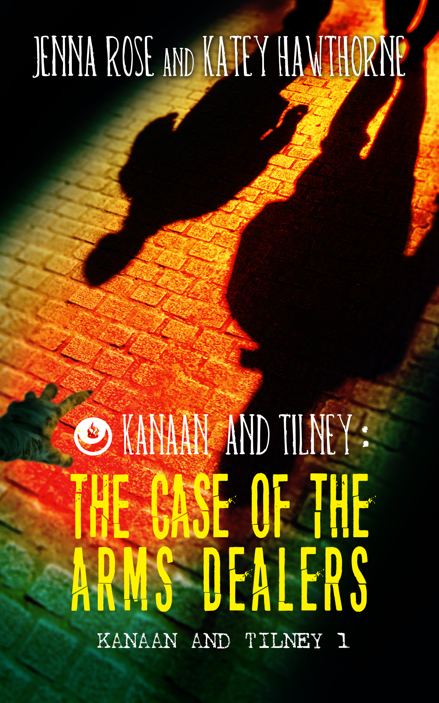 Guest Post and Giveaway: Kanaan & Tilney: The Case of the Arms Dealers by Jenna Rose and Katey Hawthorne