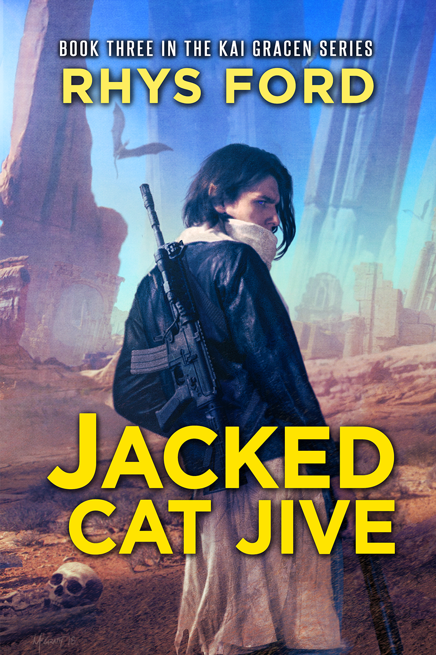 Guest Post and Giveaway: Jacked Cat Jive by Rhys Ford