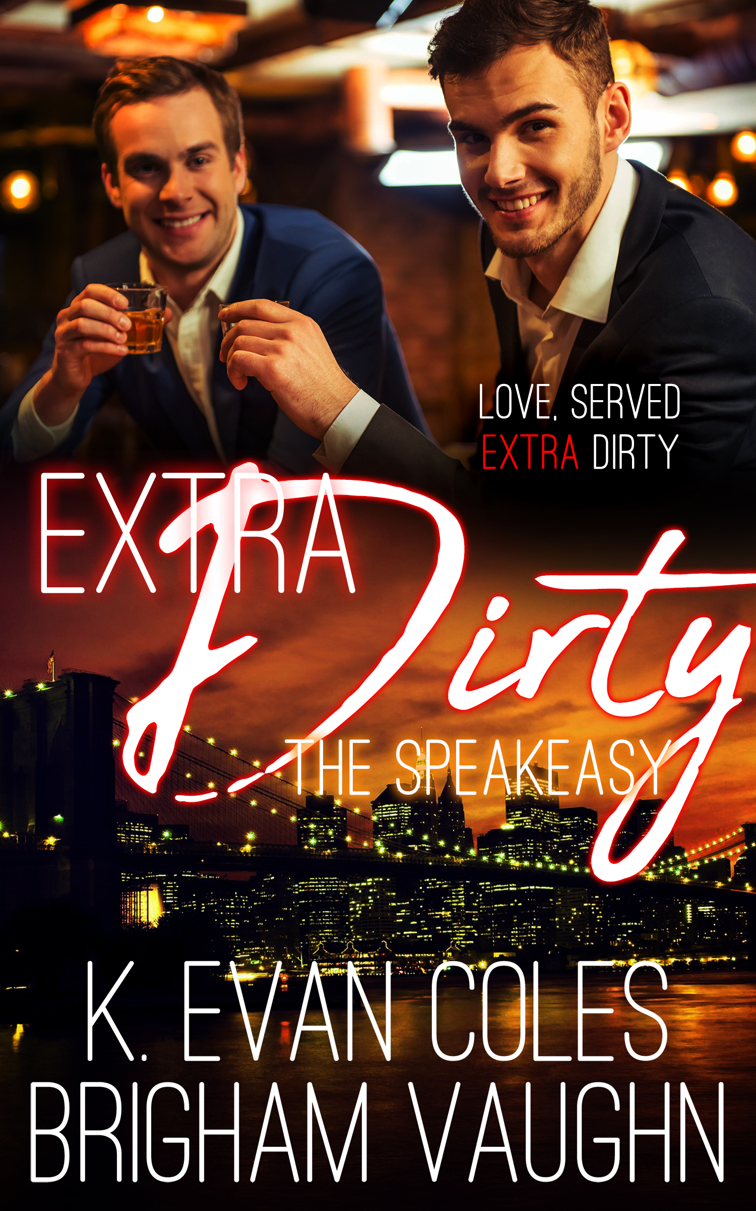 Guest Post and Giveaway: Extra Dirty by K. Evan Coles and Brigham Vaughn