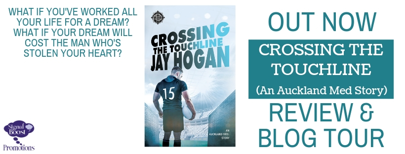 Guest Post and Giveaway: Crossing the Touchline by Jay Hogan