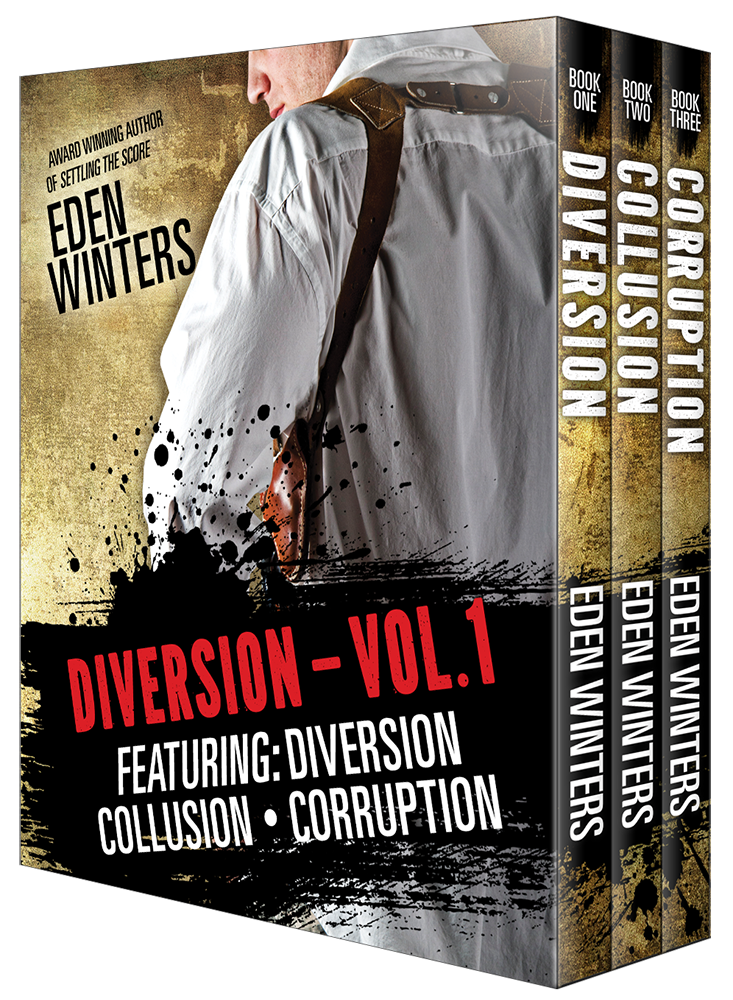 Guest Post and Giveaway: Diversion Series Box Set, Vol. 1 by Eden Winters