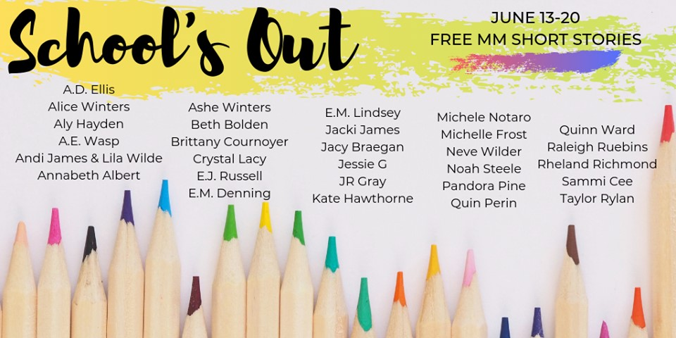 Guest Post: School's Out MM Short Story Giveaway by Kate Hawthorne