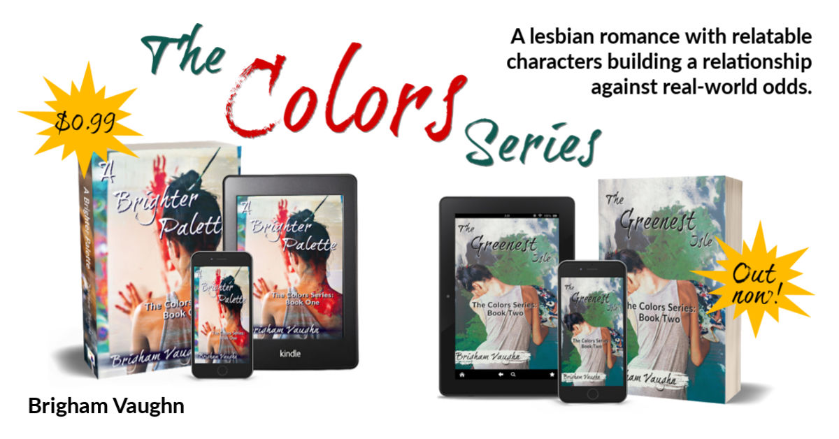 Guest Post: The Colors series by Brigham Vaughn