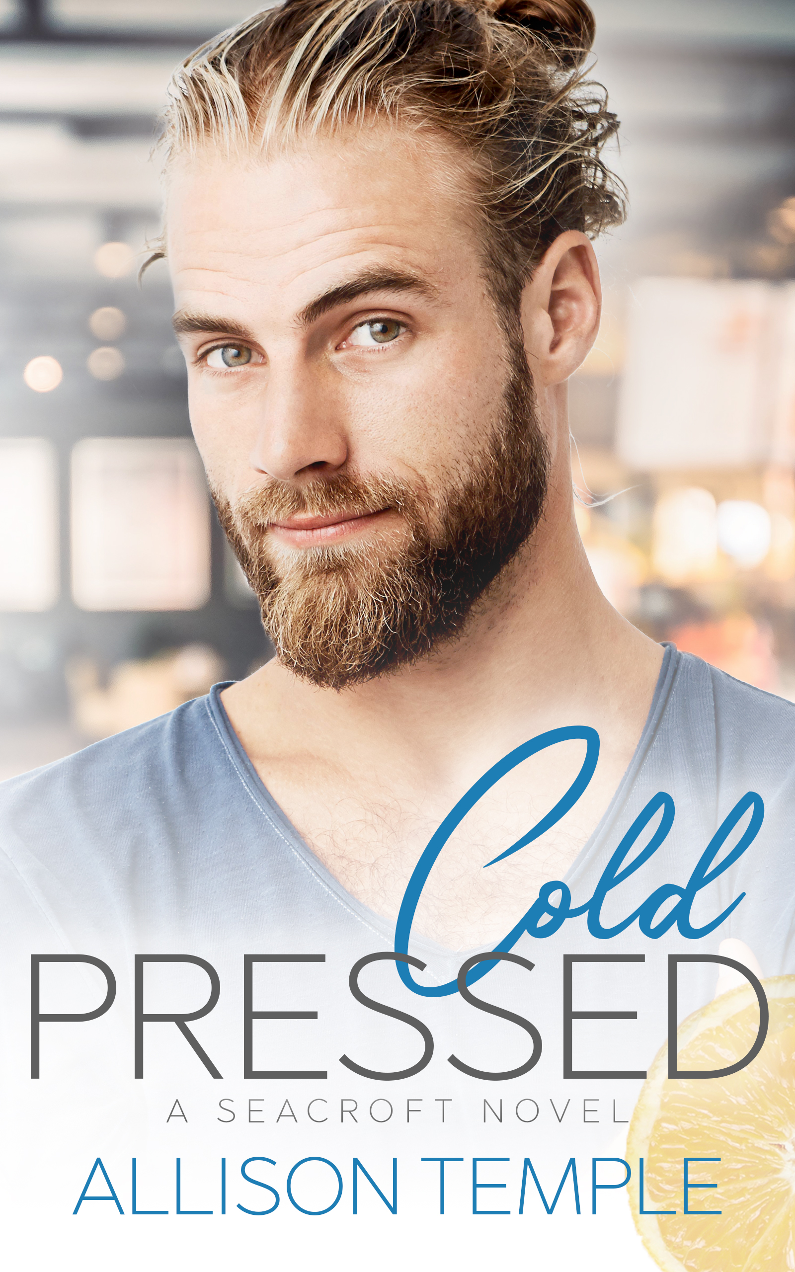 Guest Post and Giveaway: Cold Pressed by Allison Temple