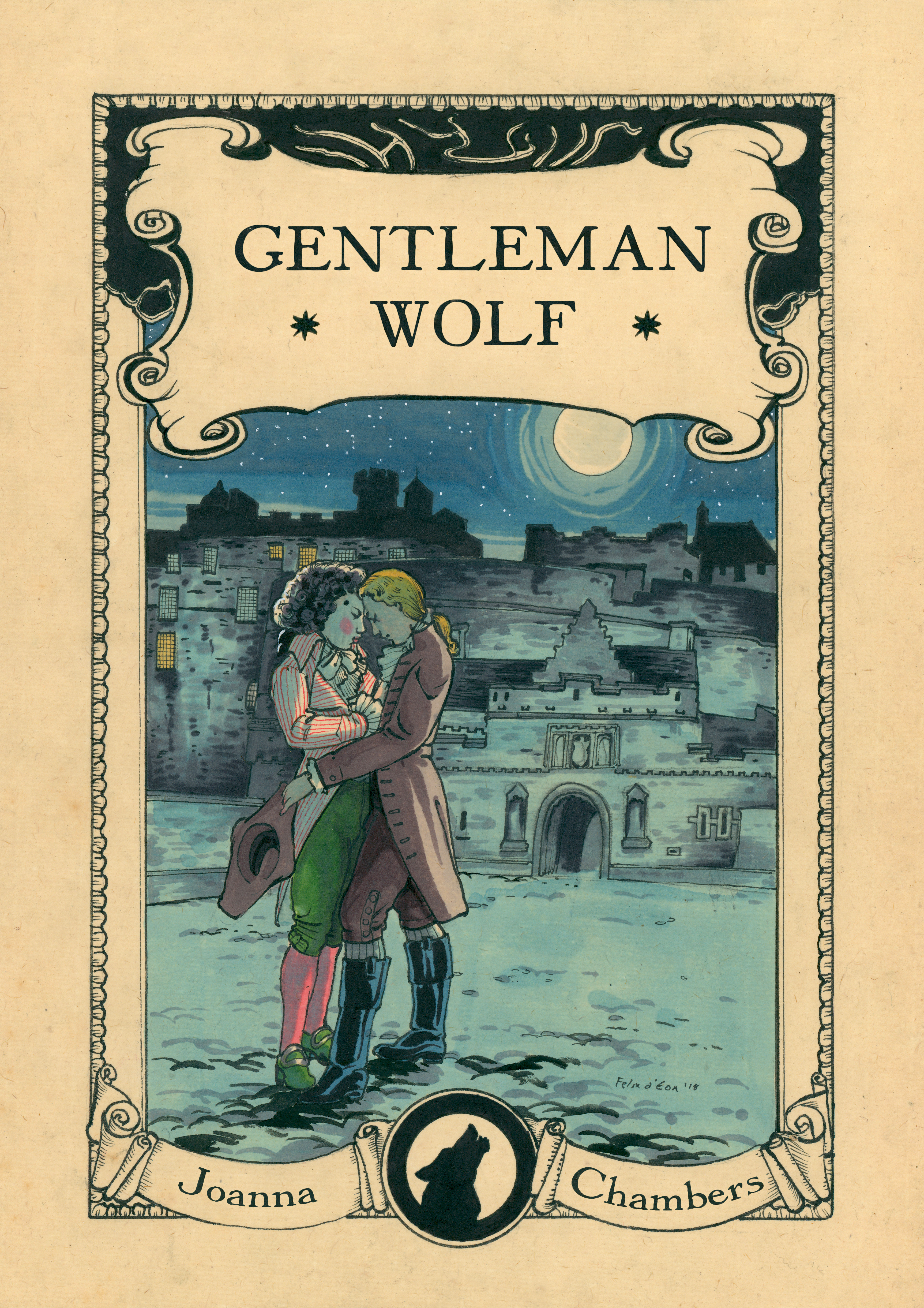 Excerpt and Giveaway: Gentleman Wolf by Joanna Chambers